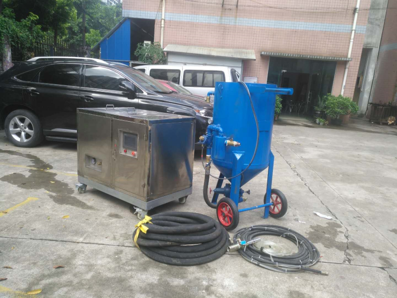 水喷砂设备和干喷砂设备优缺点对比